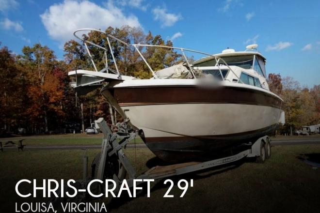 1981 Chris Craft 280 Catalina Express - For Sale at Louisa, VA 23093 - ID 69122