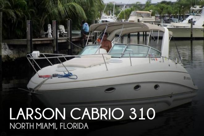 2004 Larson Cabrio 310 - For Sale at Miami, FL 33181 - ID 94578