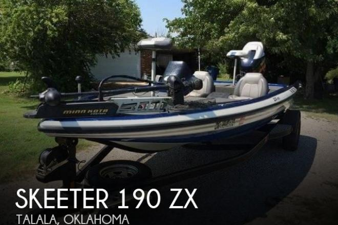 2012 Skeeter 190 ZX - For Sale at Talala, OK 74080 - ID 95210