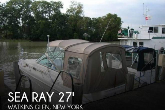 1998 Sea Ray 270 SE Sundancer - For Sale at Watkins Glen, NY 14891 - ID 67260