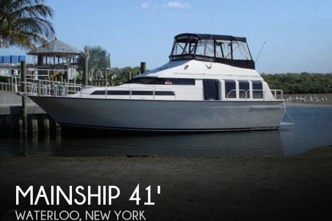 1989 Mainship 41 Grand Salon - For Sale at Waterloo, NY 13165 - ID 65705