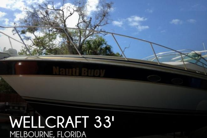 1988 Wellcraft 3400 Gran Sport - For Sale at Melbourne, FL 32935 - ID 64860