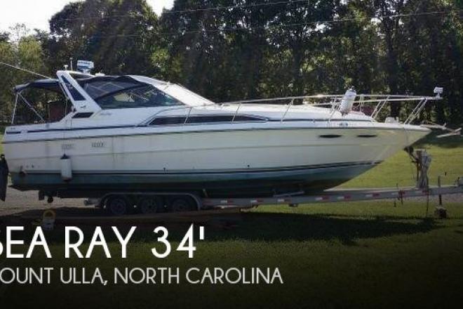1989 Sea Ray 340 Sundancer - For Sale at Mount Ulla, NC 28125 - ID 144325
