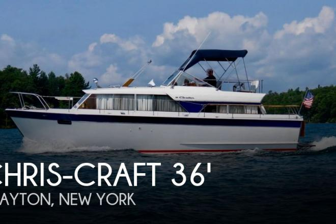 1967 Chris Craft 36 Cavalier Motor Yacht - For Sale at Clayton, NY 13624 - ID 70296