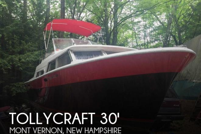 1972 Tollycraft 30 Crowd Pleaser - For Sale at Mont Vernon, NH 3057 - ID 56472