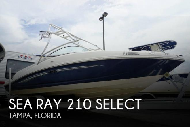 2008 Sea Ray 210 Select - For Sale at Tampa, FL 33619 - ID 55789
