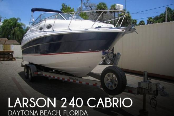 2006 Larson 240 Cabrio - For Sale at Daytona Beach, FL 32114 - ID 46558