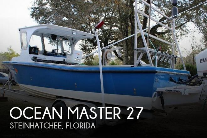 1987 Ocean Master 27 - For Sale at Steinhatchee, FL 32359 - ID 49962