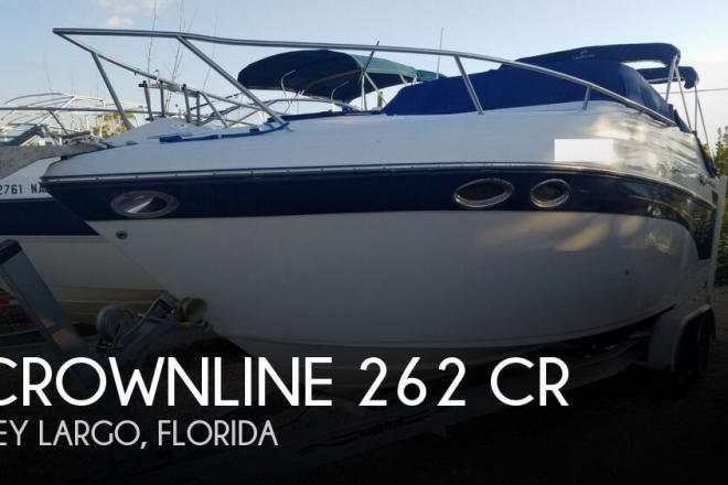 2003 Crownline 262 CR - For Sale at Key Largo, FL 33037 - ID 157691