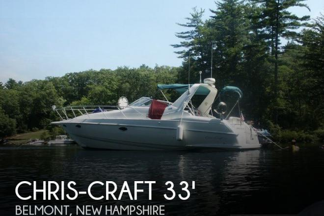 1996 Chris Craft 33 Crowne - For Sale at Belmont, NH 3220 - ID 33538