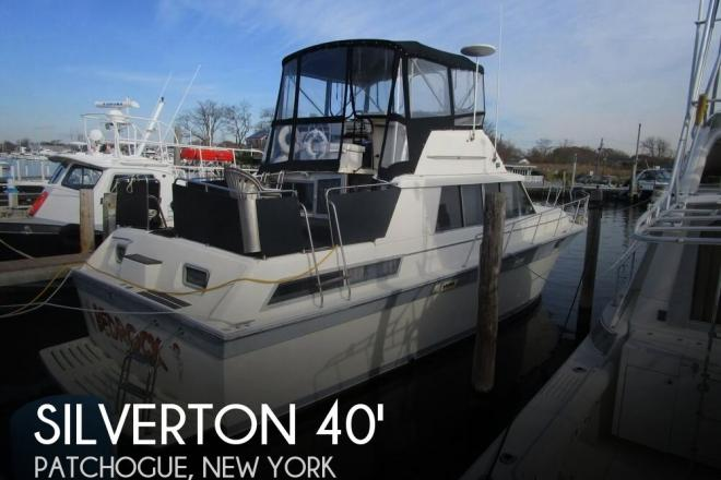 1986 Silverton 40 Aft Cabin - For Sale at Patchogue, NY 11772 - ID 50474