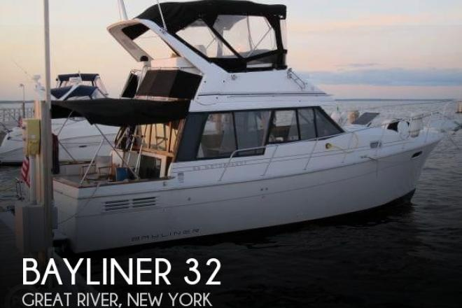 1993 Bayliner 3288 MY - For Sale at Great River, NY 11739 - ID 167370