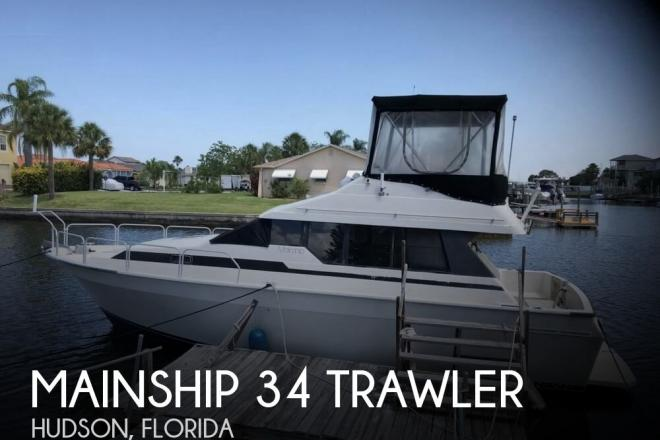 1988 Mainship 34 Trawler - For Sale at Hudson, FL 34667 - ID 166623