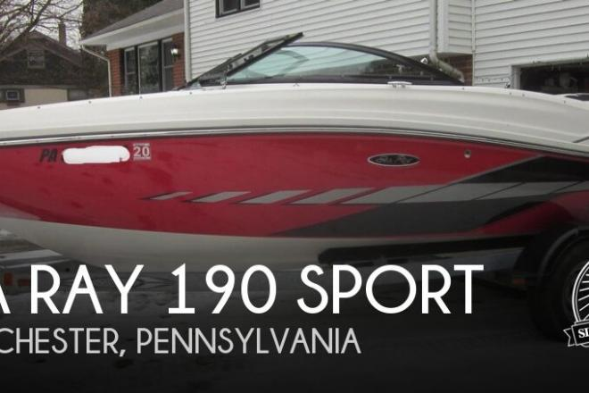 2014 Sea Ray 190 SPORT - For Sale at West Chester, PA 19380 - ID 156963