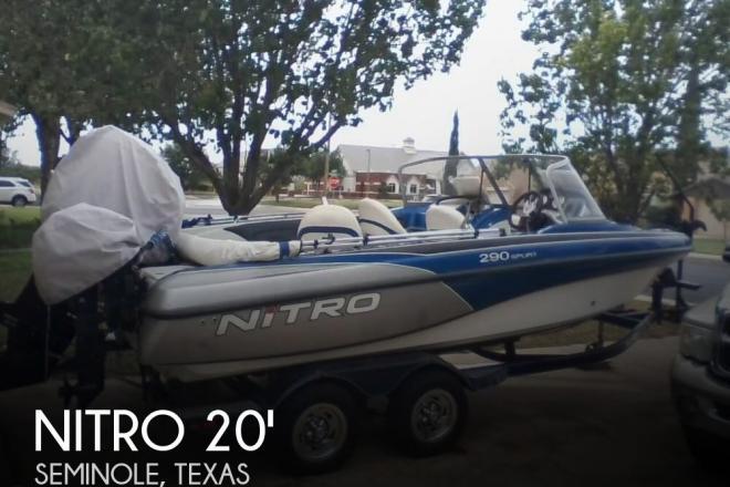 2010 Nitro Fish & Ski 290 - For Sale at Odessa, TX 79760 - ID 155984