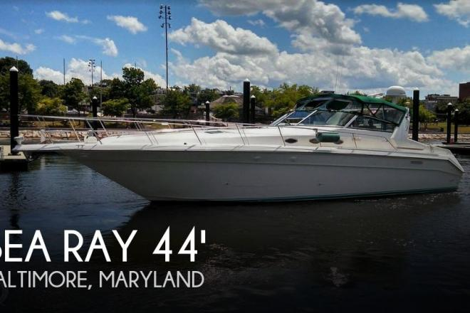 1995 Sea Ray 440 SUNDANCER - For Sale at Baltimore, MD 21224 - ID 167016
