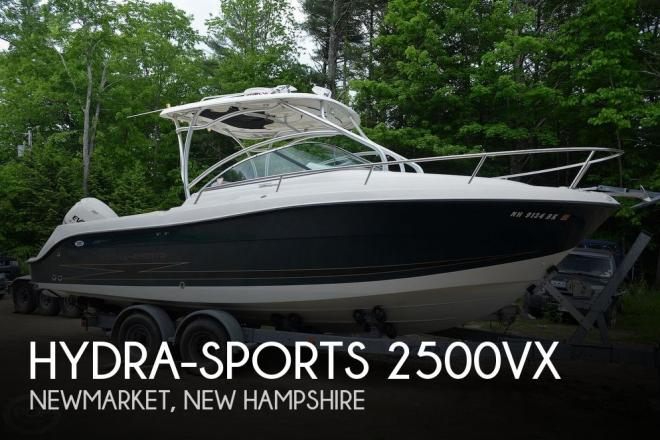 2006 Hydra Sports 2500VX - For Sale at Newmarket, NH 3857 - ID 159844