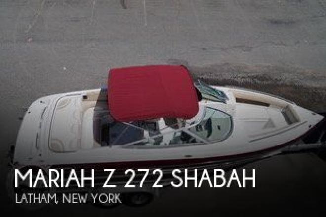 2000 Mariah Z 272 Shabah - For Sale at Latham, NY 12110 - ID 156496