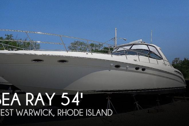 2001 Sea Ray 540 Sundancer - For Sale at Warwick, RI 2889 - ID 167656