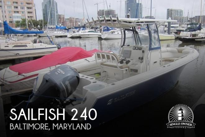2013 Sailfish 240 - For Sale at Middle River, MD 21220 - ID 135648