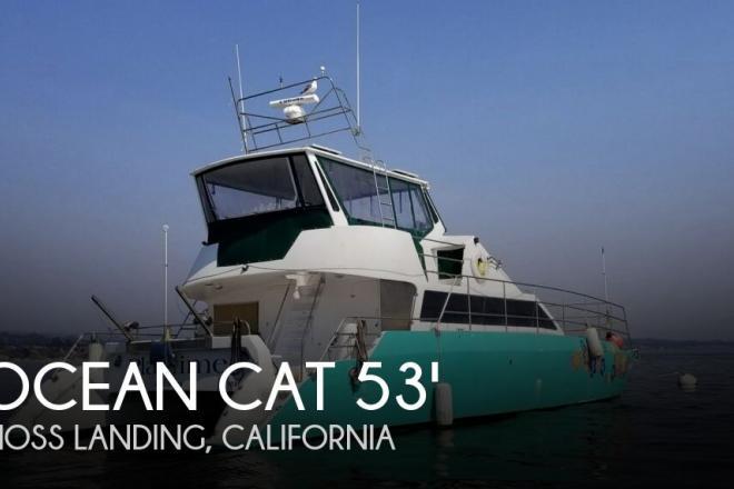 1996 Ocean Cat Ocean 53 Catamaran - For Sale at Moss Landing, CA 95039 - ID 130578