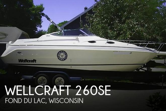 1998 Wellcraft 260SE - For Sale at Fond du Lac, WI 54935 - ID 58534