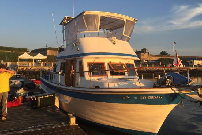 1984 Ocean Alexander Trawler - For Sale at East Providence, RI 2914 - ID 167761