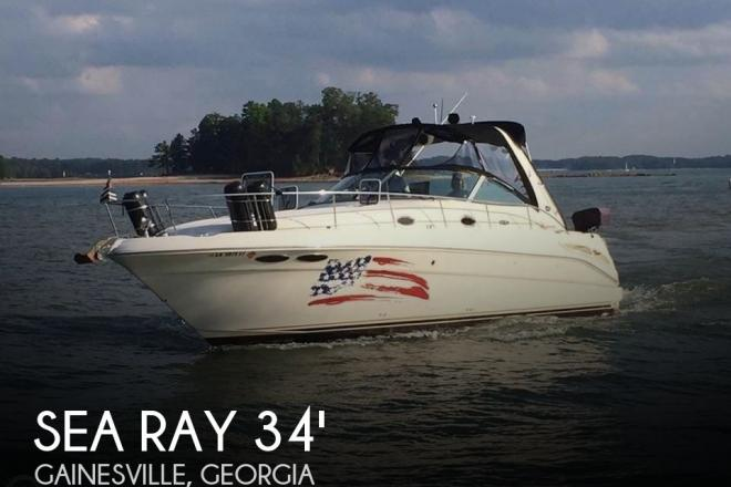 2002 Sea Ray 340 Sundancer - For Sale at Gainesville, GA 30501 - ID 124859