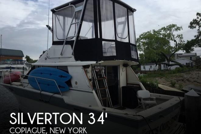 1987 Silverton 34 Convertible - For Sale at Copiague, NY 11726 - ID 166261