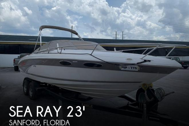 1998 Sea Ray 230 Overnighter Select - For Sale at Sanford, FL 32771 - ID 167535
