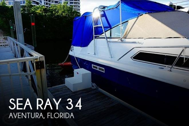 1984 Sea Ray 34 - For Sale at Aventura, FL 33180 - ID 168589