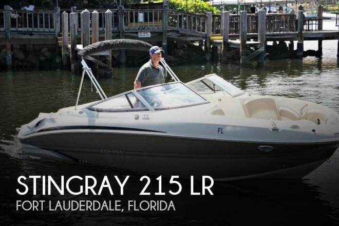 2014 Stingray 215 LR - For Sale at Fort Lauderdale, FL 33315 - ID 166282