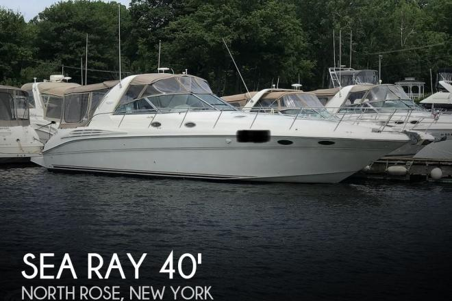 1998 Sea Ray 400 Sundancer - For Sale at North Rose, NY 14516 - ID 168891