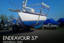 1981 Endeavour 37 Sail Plan-C Tall Rig