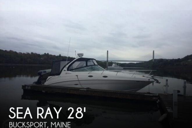 2003 Sea Ray 280 Sundancer - For Sale at Bucksport, ME 4416 - ID 143688