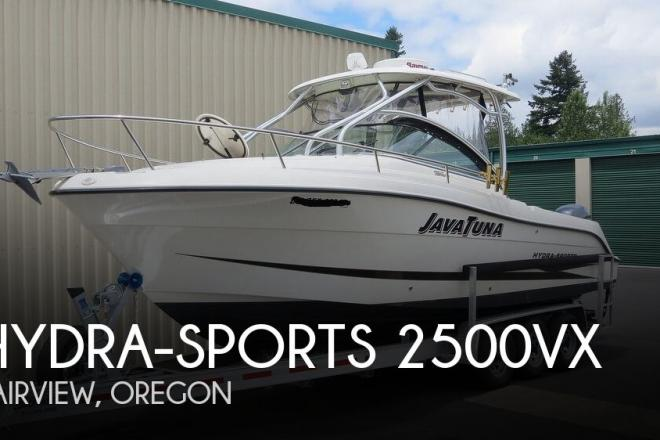 2007 Hydra Sports 2500VX - For Sale at Fairview, OR 97024 - ID 168538