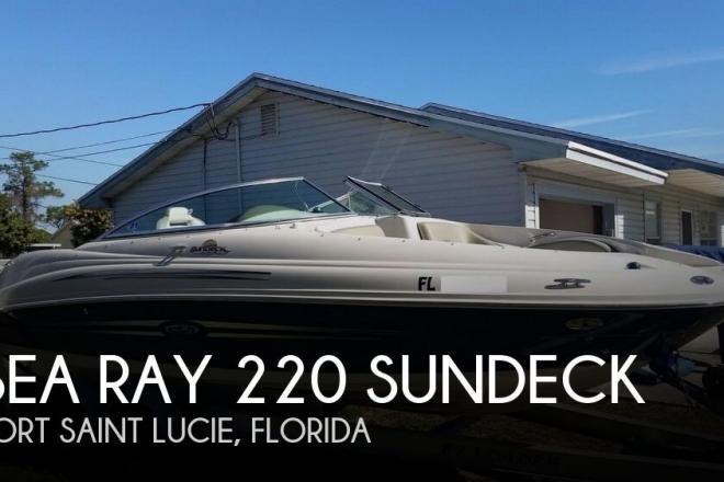 2007 Sea Ray 220 Sundeck - For Sale at Port Saint Lucie, FL 34953 - ID 157760