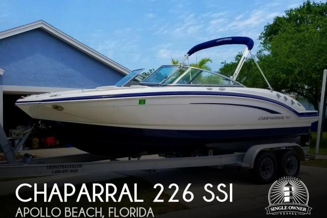 2015 Chaparral 226 SSI - For Sale at Apollo Beach, FL 33572 - ID 141106