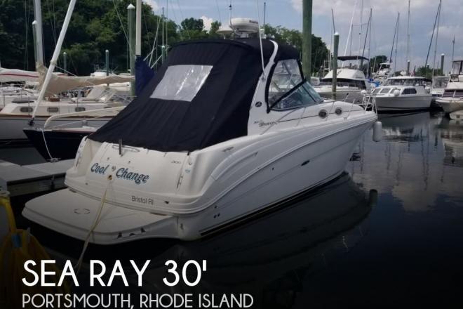 2005 Sea Ray 300 Sundancer - For Sale at Portsmouth, RI 2871 - ID 166073