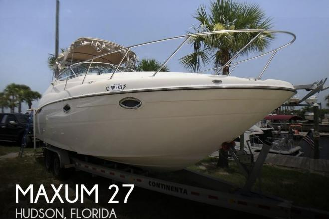 2001 Maxum 2700 SCR - For Sale at Hudson, FL 34667 - ID 161214