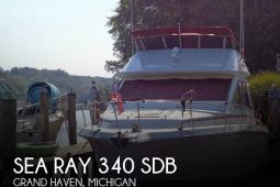 1989 Sea Ray 340 SDB