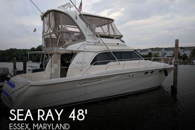 2000 Sea Ray 480 Sedan Bridge - For Sale at Essex, MD 21221 - ID 165434