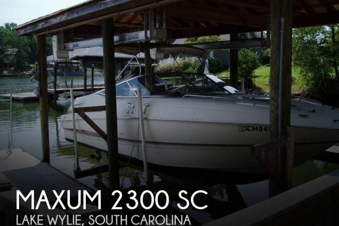 2002 Maxum 2300 SC - For Sale at Clover, SC 29710 - ID 154664