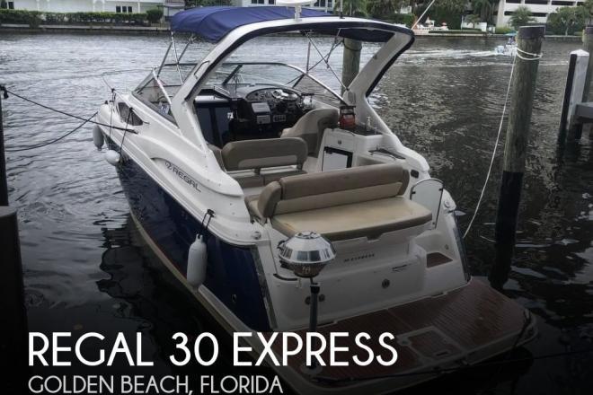 2014 Regal 30 Express - For Sale at Golden Beach, FL 33160 - ID 154314