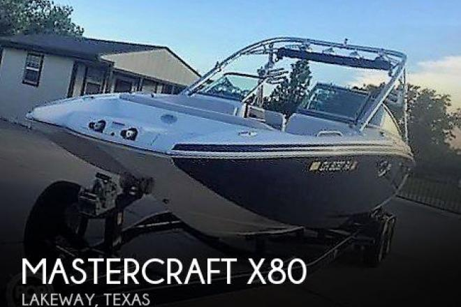 2007 Mastercraft x80 - For Sale at Lakeway, TX 78738 - ID 153580