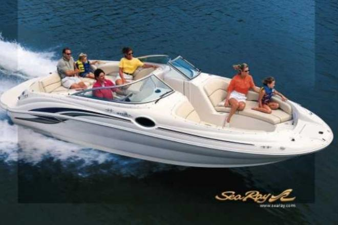 2000 Sea Ray 240 SUNDECK - For Sale at Round Lake, IL 60073 - ID 163459