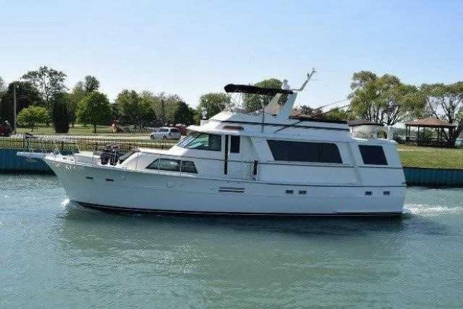 1977 Hatteras 58 MOTOR YACHT - For Sale at Harrison Township, MI 48045 - ID 163523