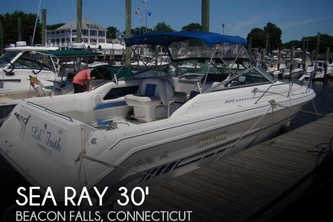 1994 Sea Ray 300 Weekender - For Sale at Beacon Falls, CT 6403 - ID 168323