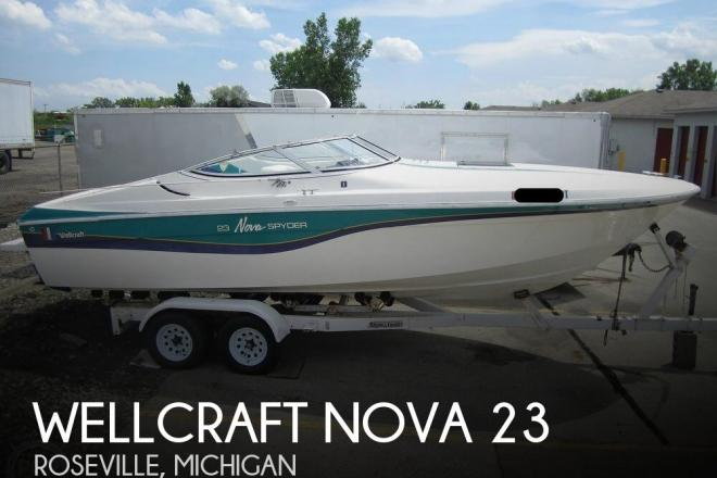 1994 Wellcraft Nova 23 Spyder - For Sale at Roseville, MI 48066 - ID 168088