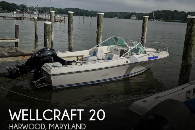 1988 Wellcraft V20 STEP-LIFT - For Sale at Galesville, MD 20765 - ID 169143